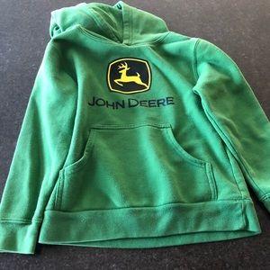 GUC John Deere Hoodie size 7